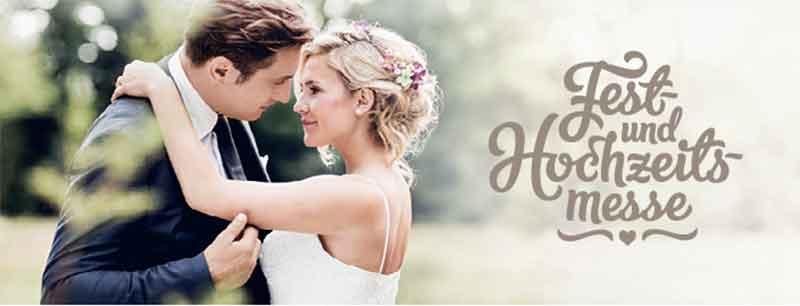Plakat Fest und Hochzeitsmesse Zeremonie, Hochzeitszeremonie
