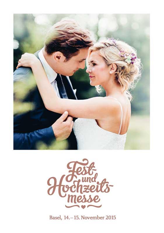 Bild: Plakat Hochzeitsmesse Zermonie Hochzeitszeremonie freie Trauung