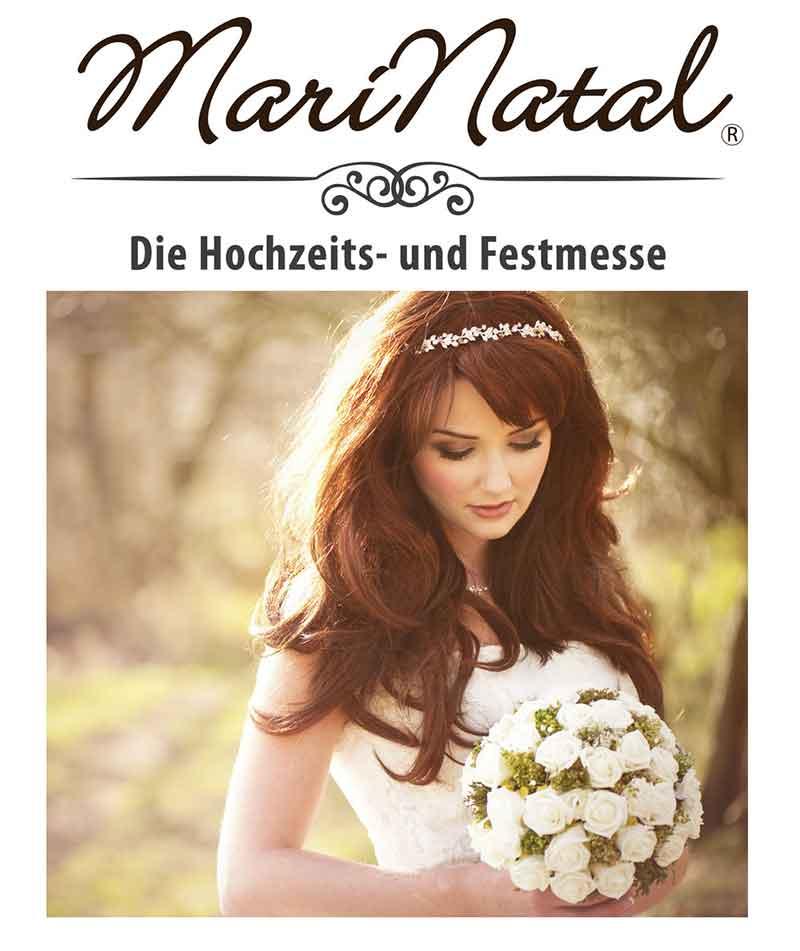 Plakat Hochzeits- und Festmesse, freie Trauung