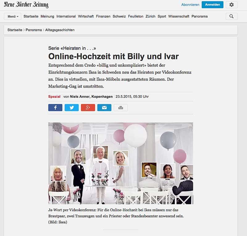Online-Hochzeit: Heiraten per Videokonferenz