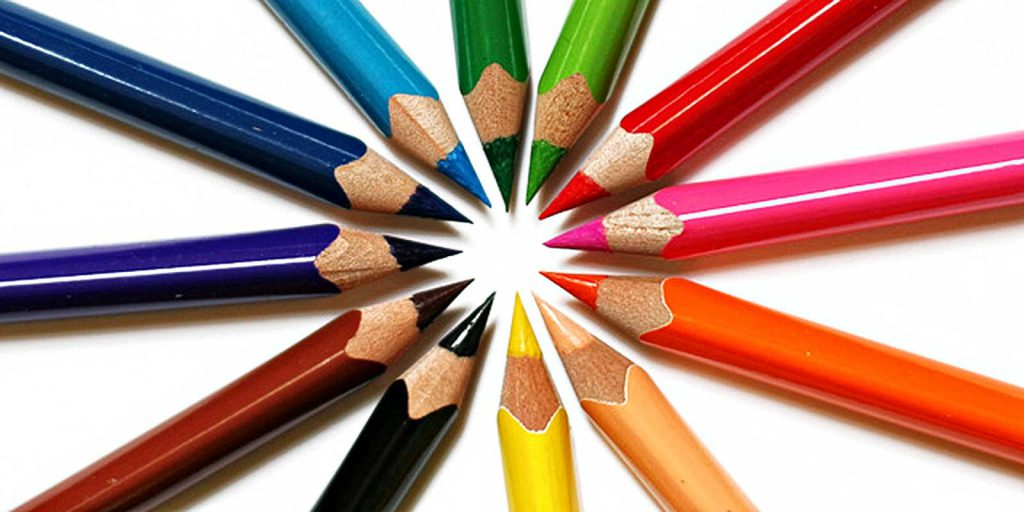 Farbstifte, Bemerkenswertes zu Websites, freie Theologin, Büro für Tat und Rat Links
