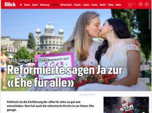 schwule und lesbische Paare