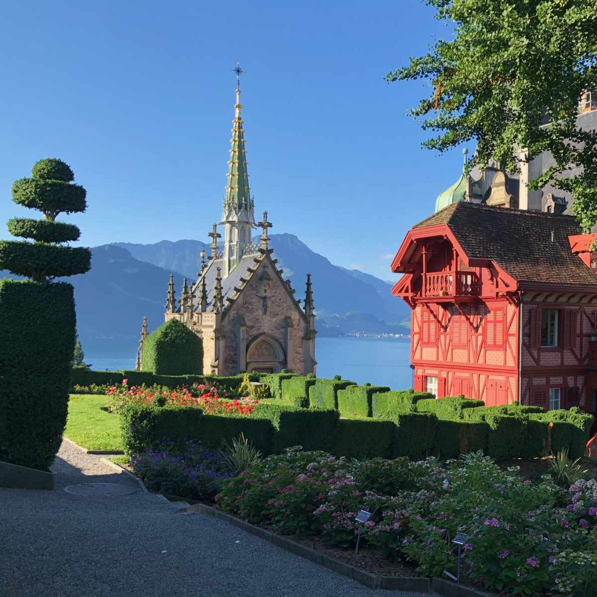 Kapelle in Meggen am Vierwaldstättersee