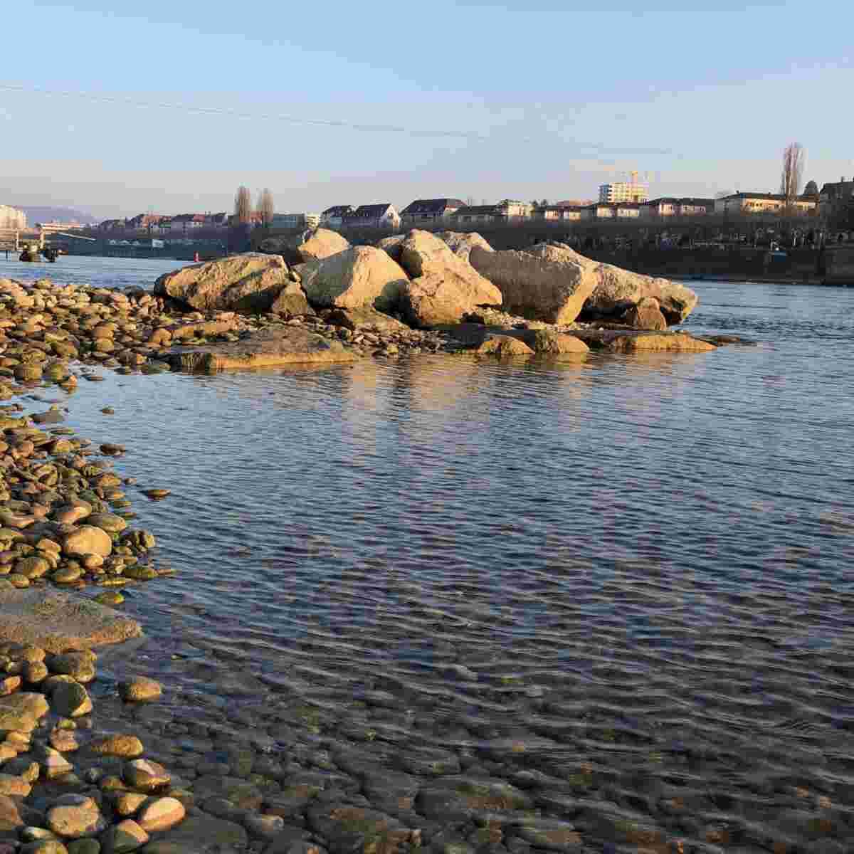 Rheinufer bei Basel