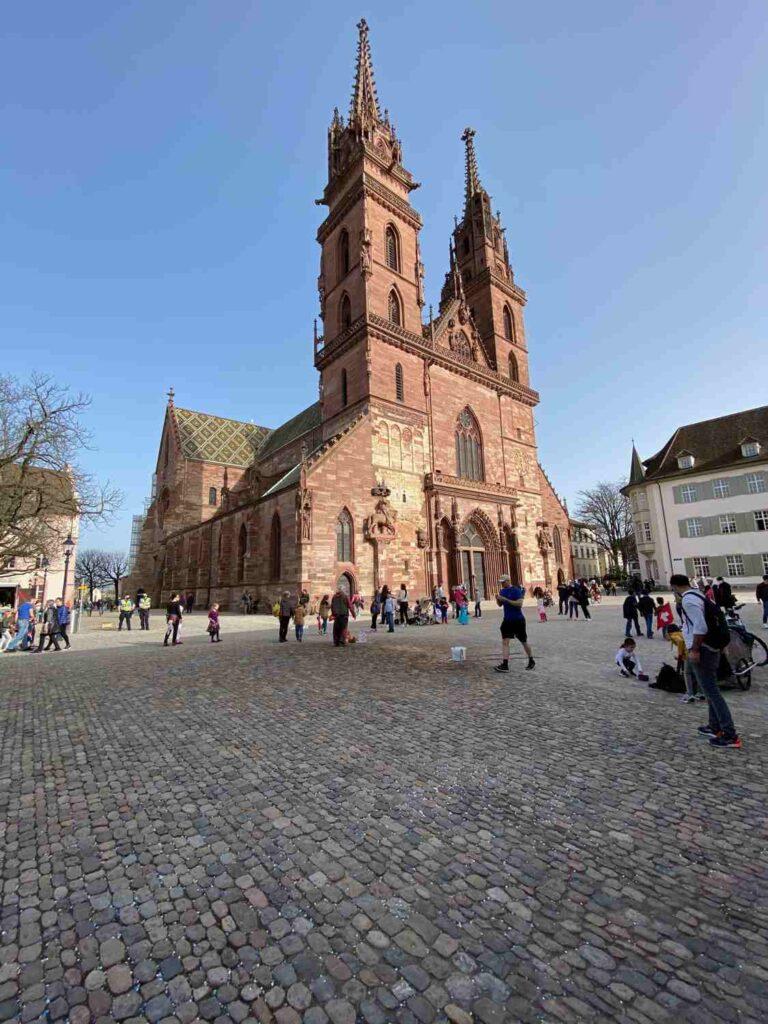 Basler Münster Kirchenglocken