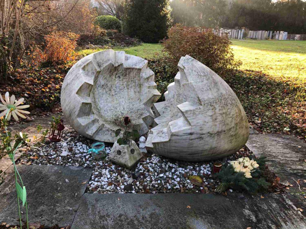 Sternenkinder Engelskinder Gedenkstätte Friedhof Liestal neue Grabformen