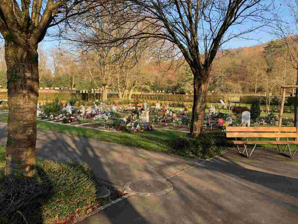 Frühverstorbene Kinder Friedhof Hörnli